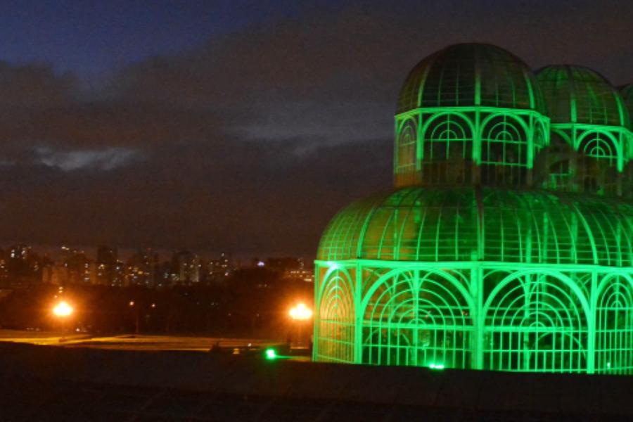 Estufa do Botânico ganhará iluminação verde pela segurança no trabalho