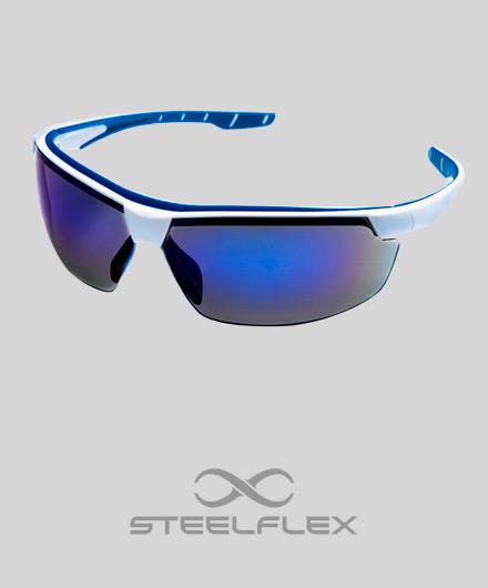 4d38d285cfb5b Óculos   Steelflex Neon Azul Espelhado - Granville Equipamentos de ...