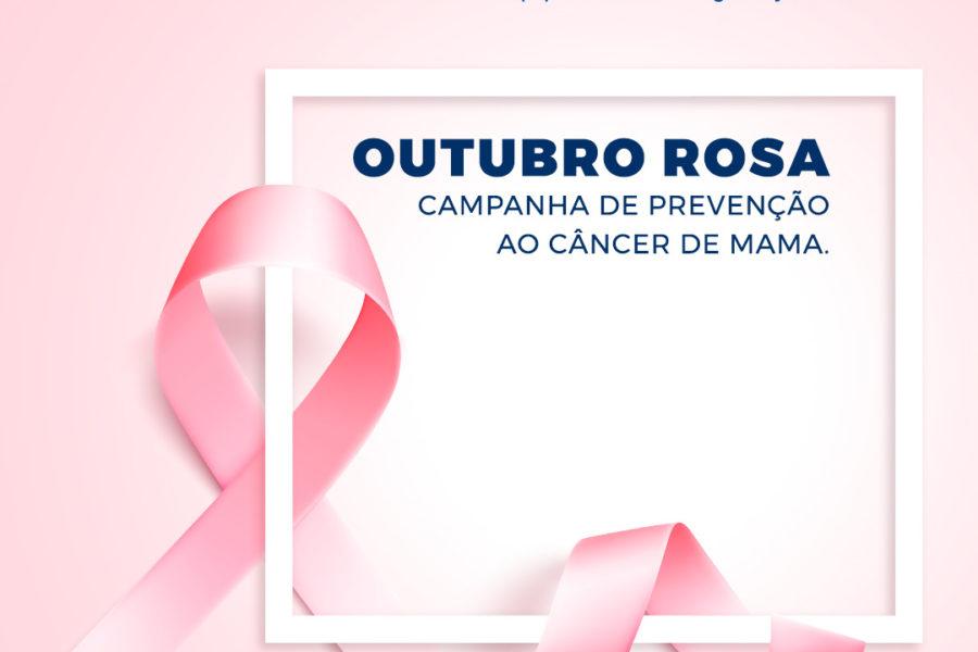 Outubro rosa – importância da conscientização sobre o câncer de mama